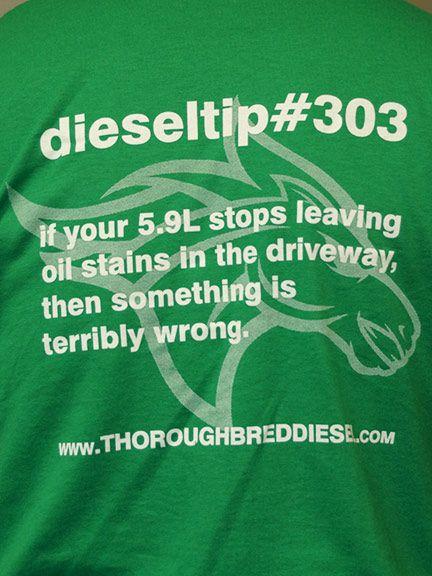 Thoroughbred Diesel dieseltips DieselTip 303 T-Shirt