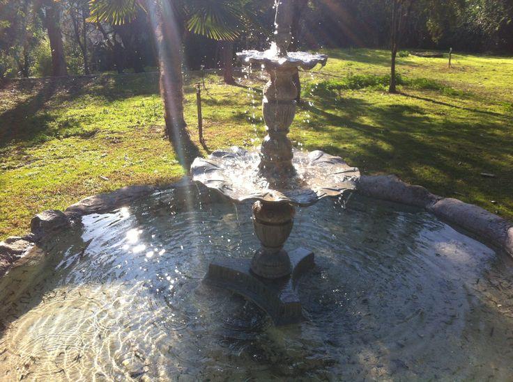 Fuente de agua en curacavi