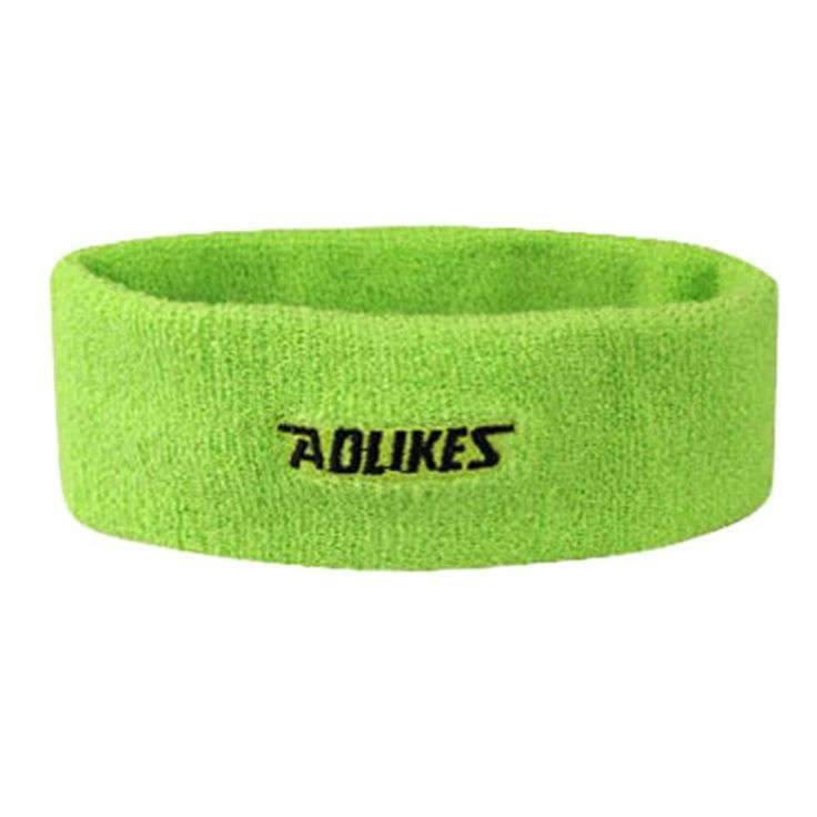 Unisex cotton Stretchy Gym Toweling Exercise Elastic Sports Sweat Headband Hair Band Hot sale