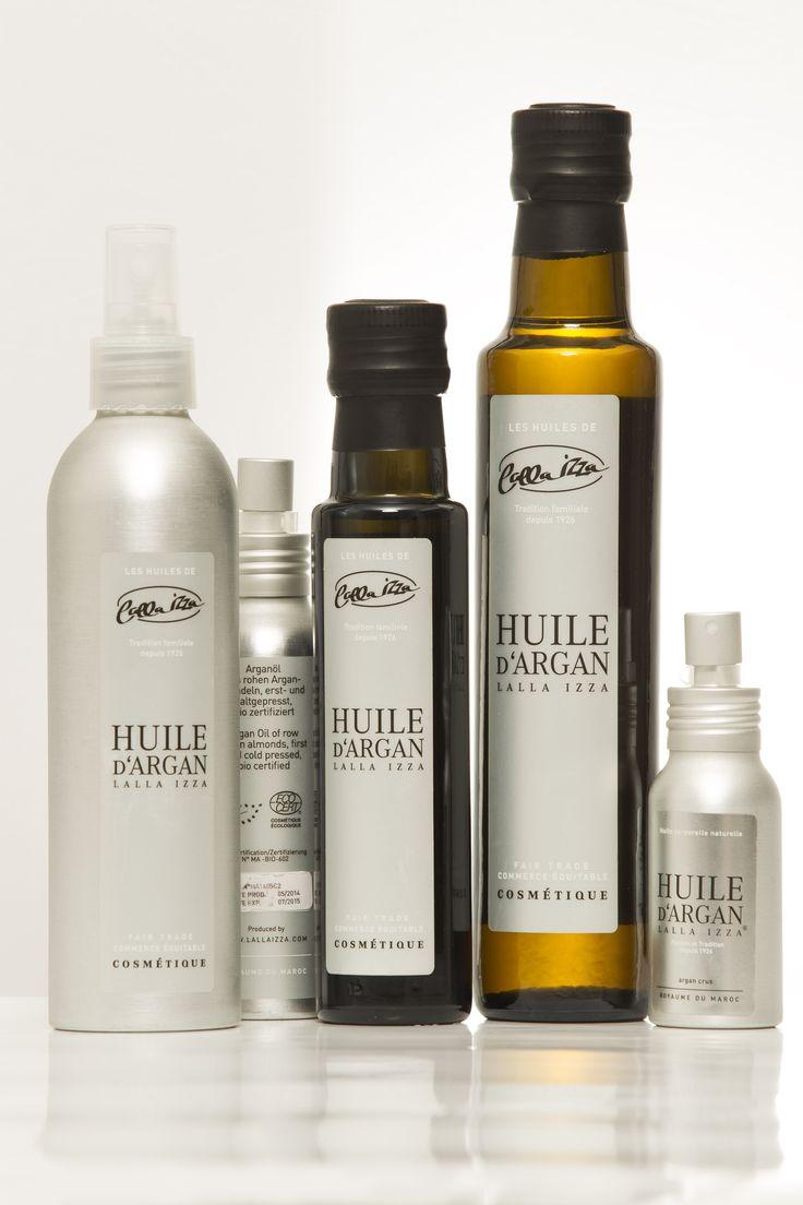 Huile d'Argan Cosmétique et Soins. Produits de Luxe Ultra ...