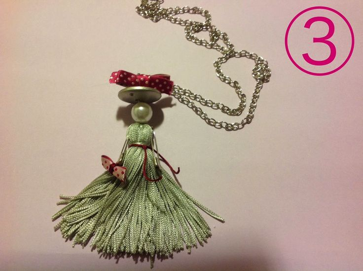 Risultati immagini per bamboline di perline fai da te