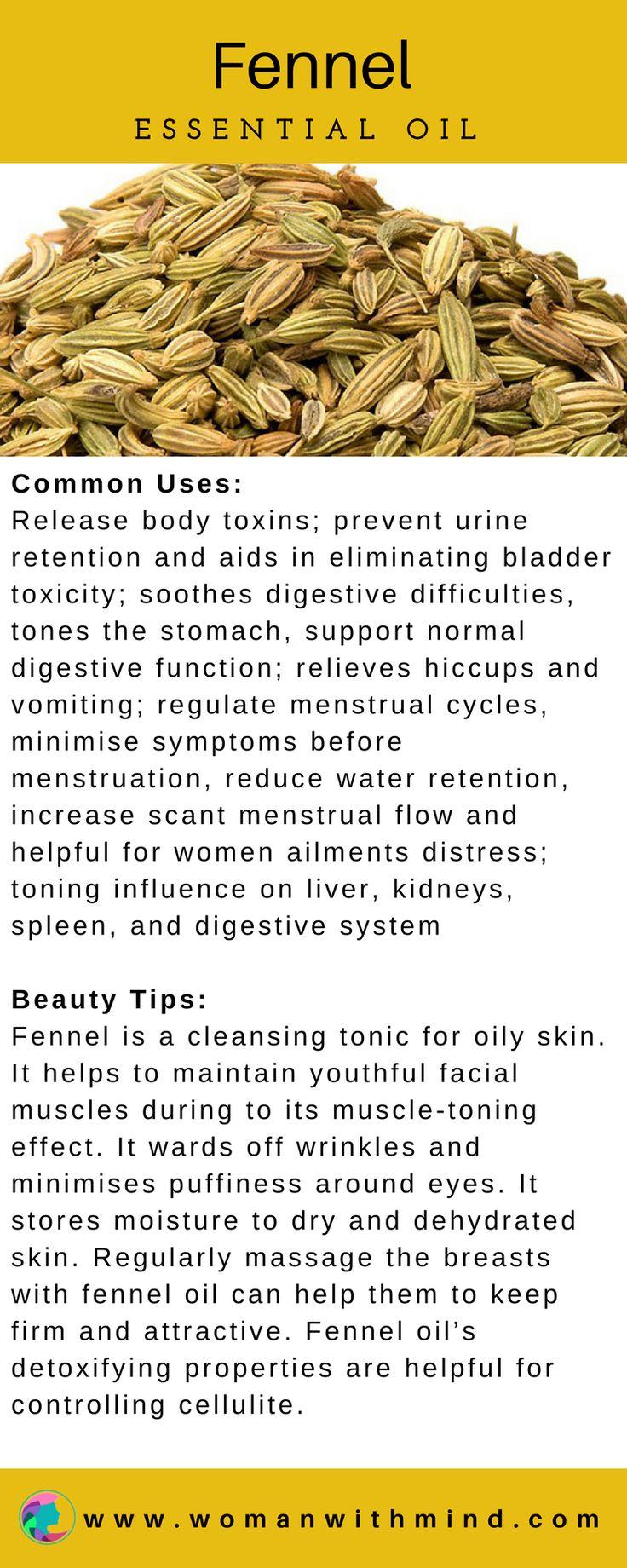 Fennel Essential Oil Guide & Application #essentialoils #diybeauty