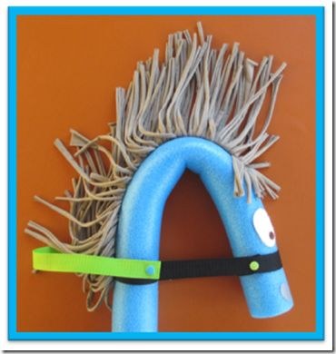 Pony-Geburtstag: Pferdchen aus Pool-Nudel basteln