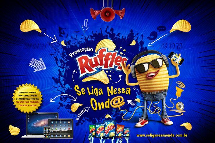 Promoção Ruffles Se liga Nessa Onda on Behance