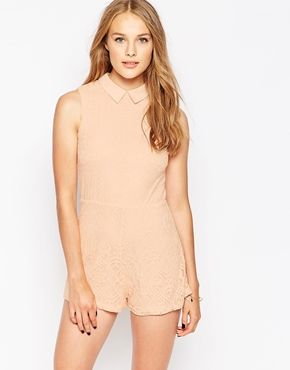 fitted playsuit collar - Google Search