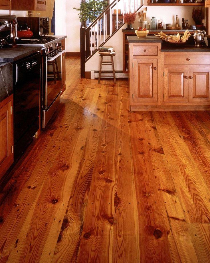 Reclaimed Heart Pine Kitchen