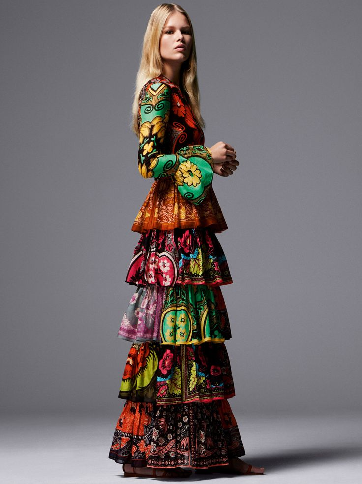 valentino - Anna Ewers by Daniel Jackson for Vogue UK February 2015