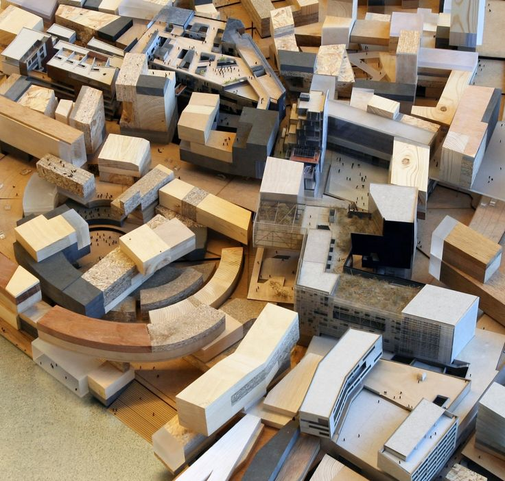 CIVIC architects - Hybrid Infrastructures   Model