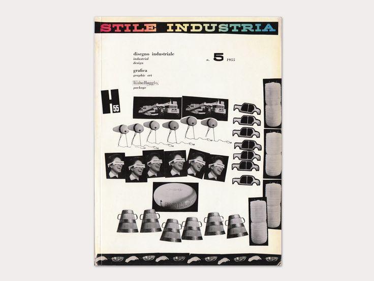 Stile Industria - Italian mid-century design magazine, an offshoot of Domus.