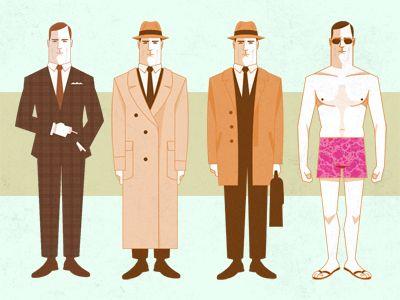 Don Draper Clothes