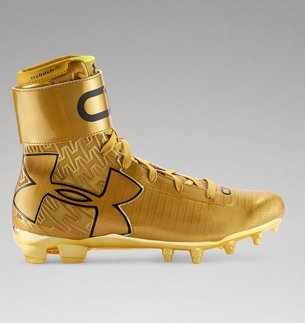 Men's UA C1N MC Gold Rush Football Cleats