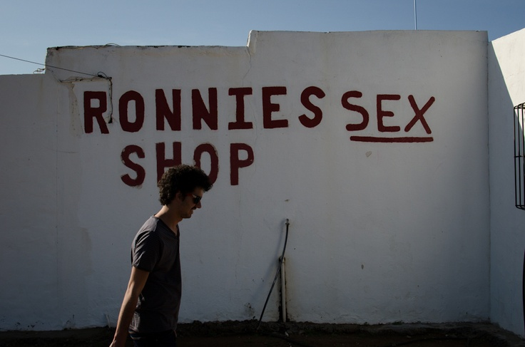 """The Iconic """"Ronnies Sex Shop"""""""