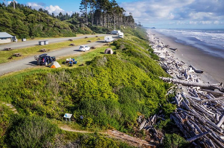 South Beach Campground – off Highway 101, Washington