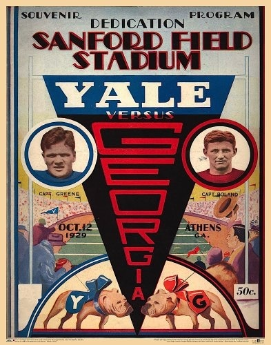 vs. Yale, October 12, 1929 The Bulldogs' first
