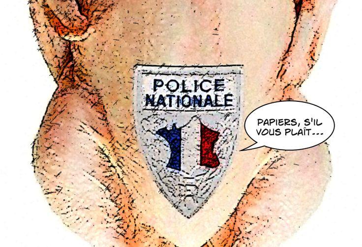 Les policiers, ces poulets rôtis
