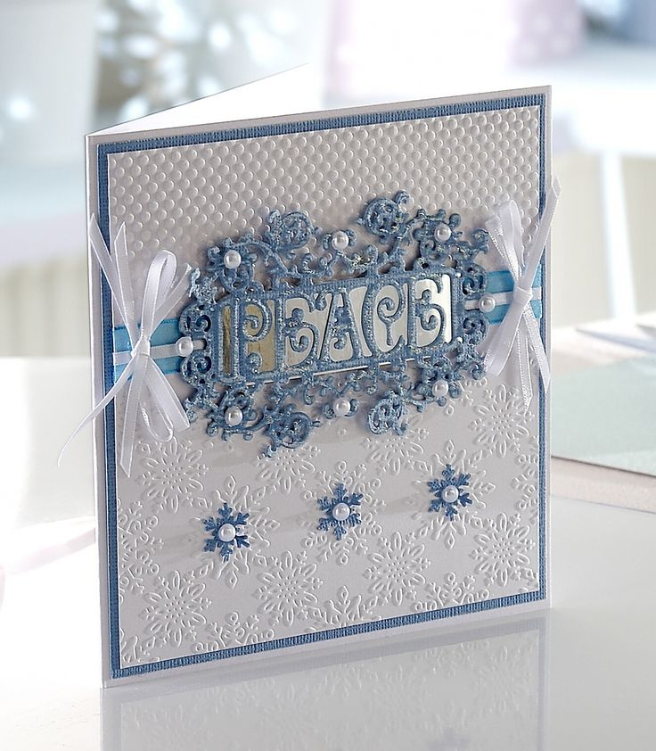 Die'sire Prestige Only Words Christmas Collection from Crafter's Companion #crafterscompanion #Christmas #peace
