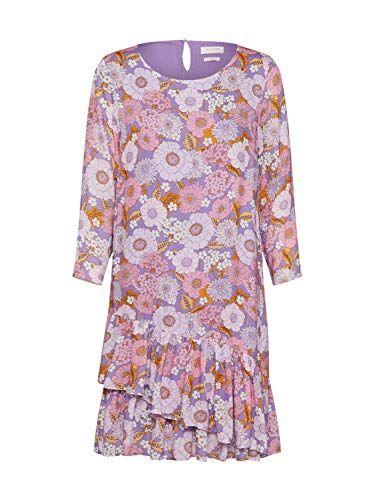 Rich Royal Damen Jerseykleid Flieder 60 38 Konigliche Kleider Kleider Volantkleid
