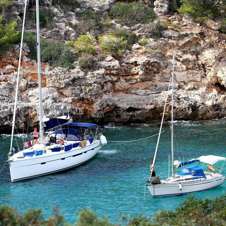Mallorca Spain is a popular destination for sailing. Experience a wonderful variety of landscapes and a wide choice of places to stop off   Book a boat now: www.SailChecker.com  #travel #sailing #sailingstagram  #sailboat  #luxury #dream #holiday #yacht  #yachtparty #sailinglife  #best #deals