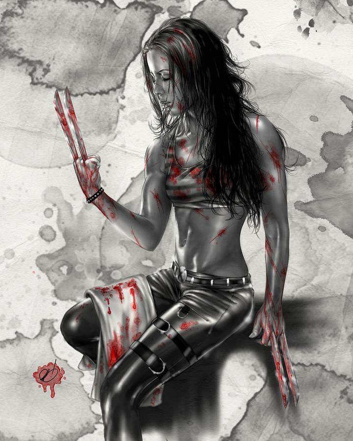 X-23 Looking very Eliza Dushkuish