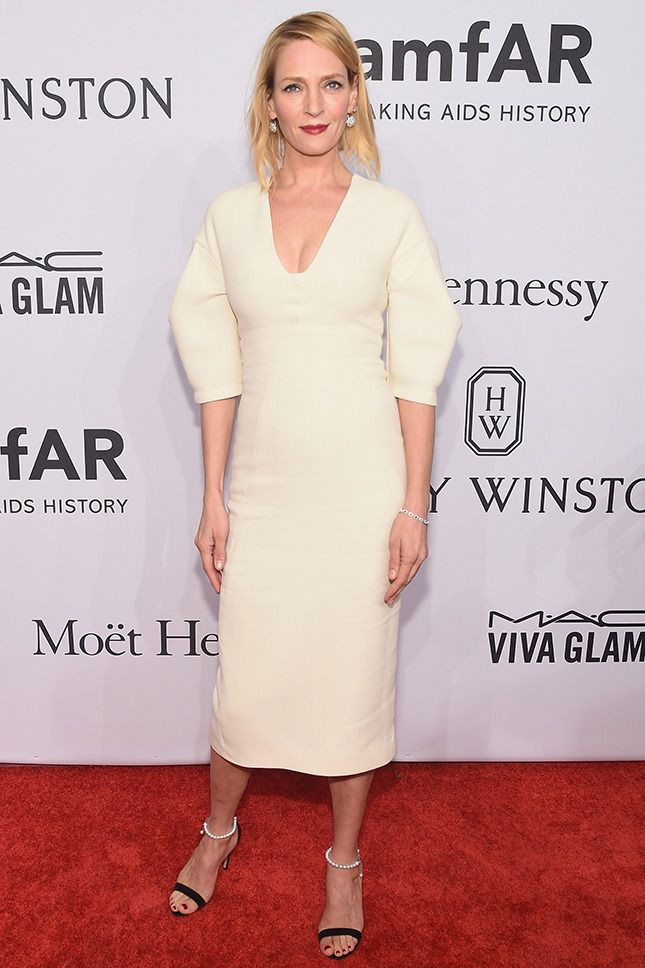 Гости вечера amfAR в Нью-Йорке   Мода   Выход в свет   VOGUE
