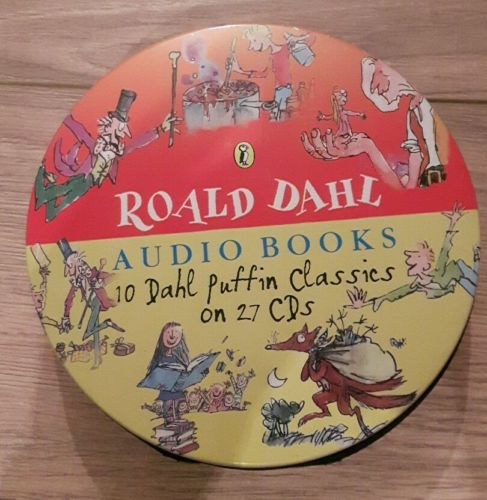 #Roald dahl audio books 10 dahl #puffin #classics on 27 cds,  View more on the LINK: 	http://www.zeppy.io/product/gb/2/301930721959/