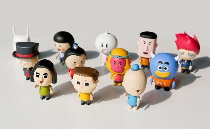 Korea Naver Webtoon Cartoon Character Figure 5 x 7 Cm | eBay