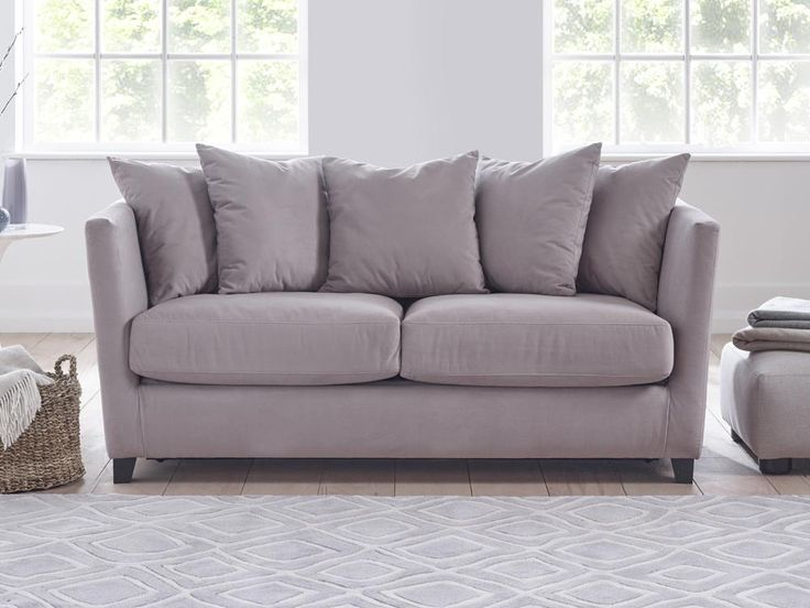 Esme Sofa - The extraordinary comfort of Esme's pillowed back makes this sofa splendid for cosy evenings and lazy days - by www.livingitup.co.uk