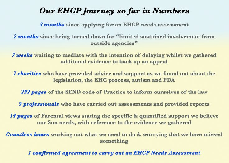 Life with ASD and the rest: #EHCP Needs Assessment - Past the First Hurdle #SEND #Autism