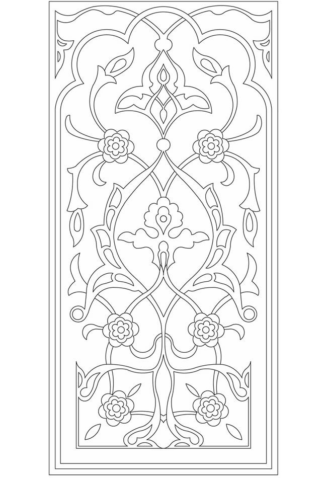 A Treasury of Arabesque Designs