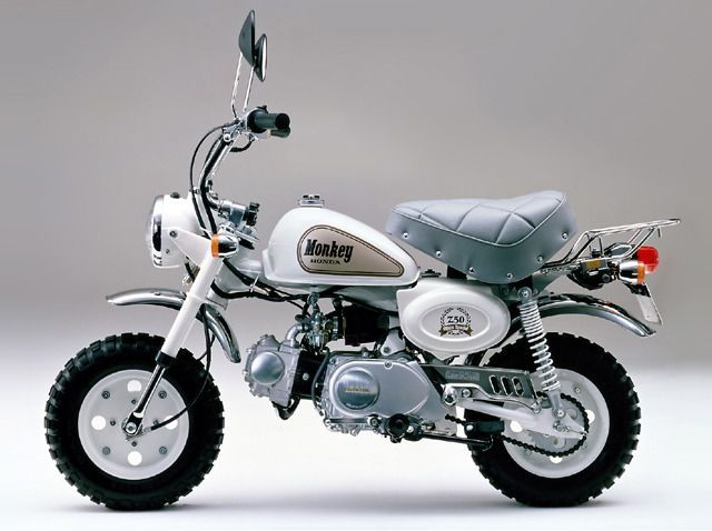 Monkey Limited This Was The Only Limited Edition Model Ever In 2020 Mini Bike Kids Bike Honda