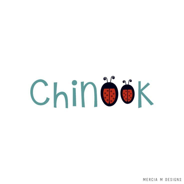 Chinook Children's Clothing Label Logo Design by Mercia M Designs