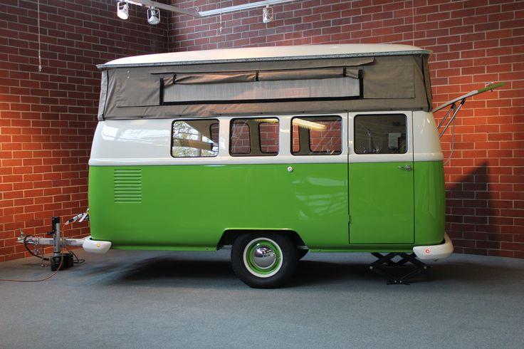 #travel #vintage #unique #camper #trailer #adventure #fun #outdoors #VW #bus #lightweight #fiberglass #custom #dubbox