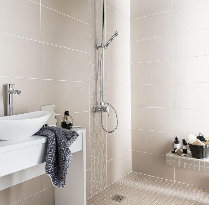 les 25 meilleures idées de la catégorie salle de bain beige sur ... - Faience Salle De Bain Beige