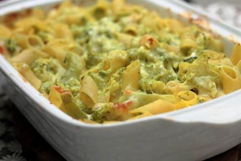 Pasta gratinata con Broccoli (Utilizzare preferibilmente pasta integrale).....Per la ricetta consultate il mio sito oppure scrivetemi nei commenti!