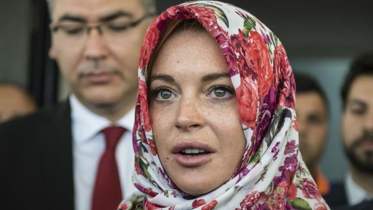 Lindsay Lohan hints at Islam conversion after Instagram purge