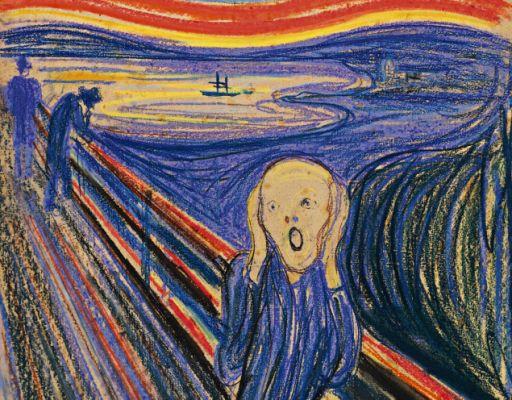 The Scream...1893..Edvard Munch