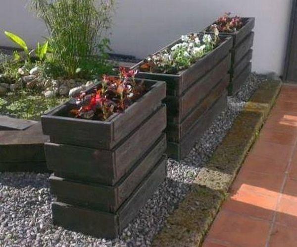 Idei de a refolosi paletii din lemn in proiecte frumoase pentru gradina