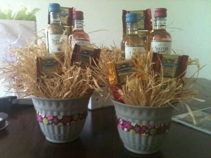 bouquet basket ideas bridal shower gifts for guests bridal gifts ...