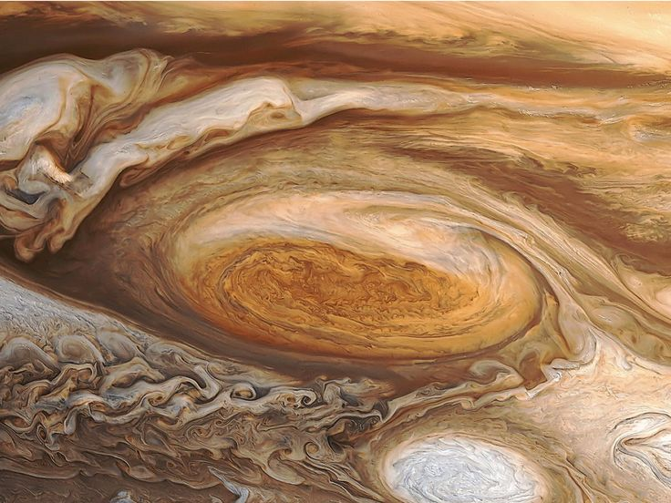 NASA will fly closer to Jupiter's Great Red Spot tonight than ever before — here's what it could see - Jupiter's Great Red Spot is a storm about twice as wide as Earth. Using the Juno spacecraft, NASA will take its closest-ever photos of the giant storm on July 10. Business Insider simulated what the best single-frame image might look like. Jupiter's Great Red Spot is about twice as wide as Earth and has tumbled in the planet's atmosphere for at least 350 years. Despite astronomers' long-sta