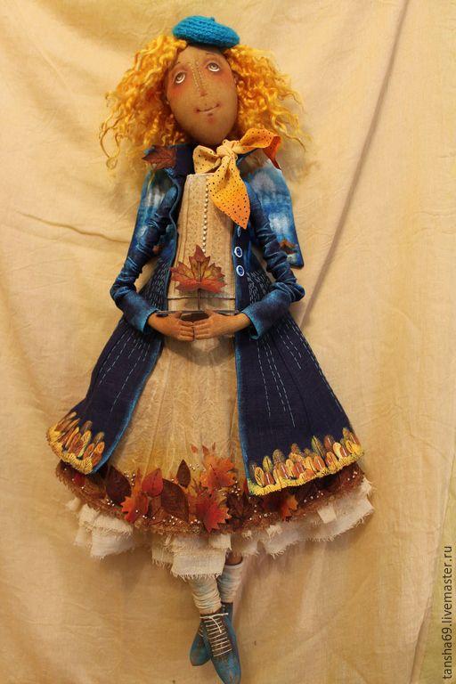 Купить Ангел рыжих душ... - разноцветный, текстильная кукла, ароматизированная кукла, интерьерная кукла, ангел