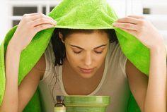 bagni di vapore per eliminare punti neri e acne