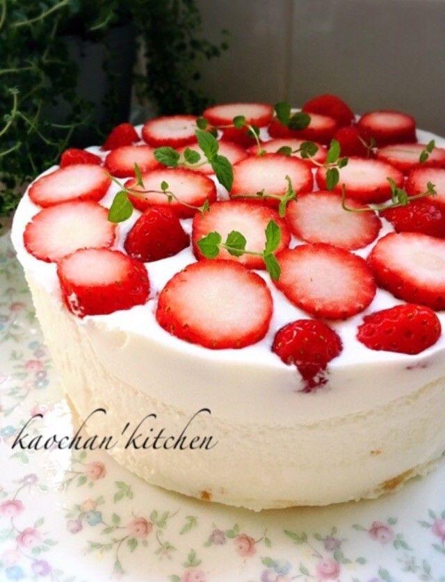 [簡単]混ぜるだけ*ヨーグルトケーキ LIMIA (リミア)