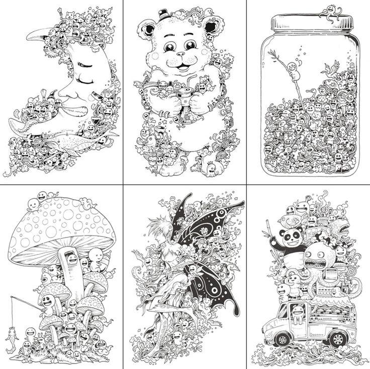 105 Best Doodle Invasion Images On Pinterest