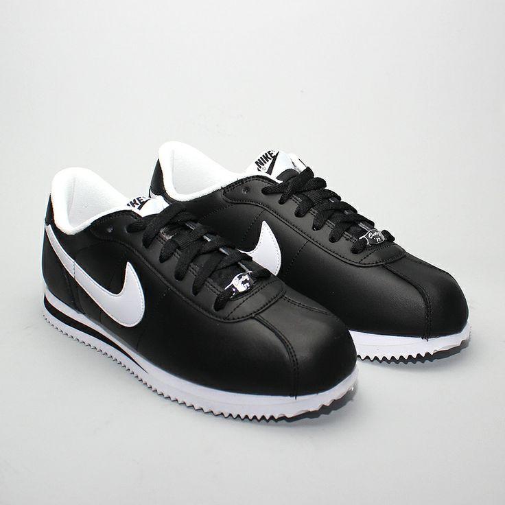 Nike Cortez Basic Leather 06 Black/White