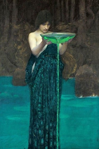 6. J. W. Waterhouse, Circe invidiosa, 1892. Adelaide, Art Gallery of South Australia