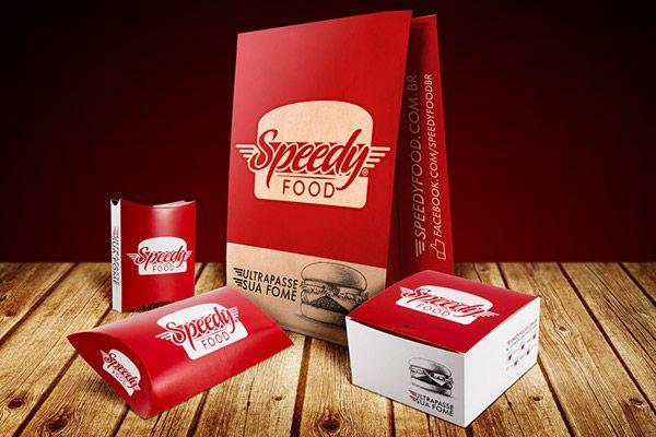 Speedy Food (Conceito de Marca e Design de Embalagem) on Pantone Canvas Gallery