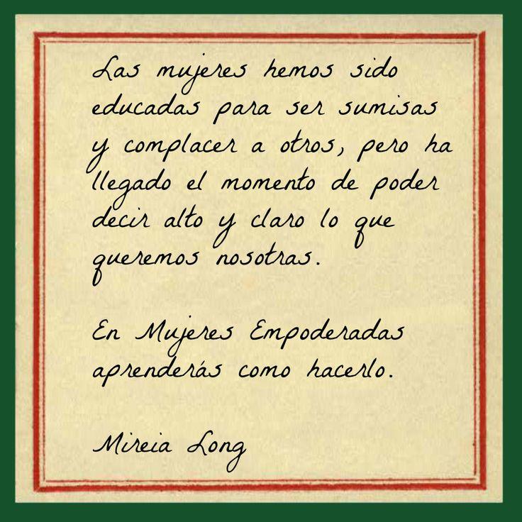 Únete: http://www.mujeresempoderadas.org/p/unete.html