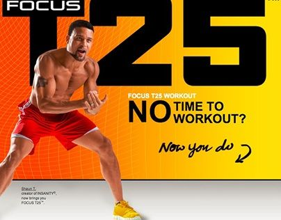 """Check out new work on my @Behance portfolio: """"Focus T25 Workout"""" http://be.net/gallery/51492277/Focus-T25-Workout"""