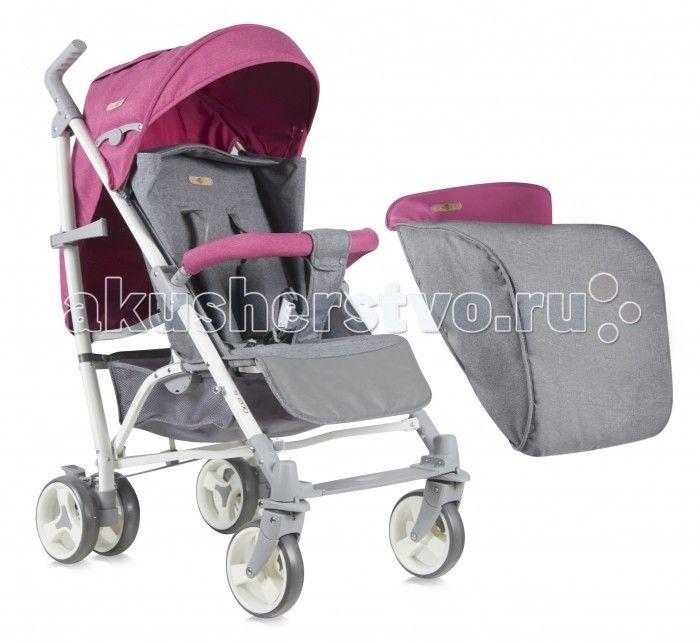 Коляска-трость Bertoni (Lorelli) S-200 + накидка на ножки  Прогулочная коляска Bertoni (Lorelli) S-200 – незаменимый помощник для молодых мам, которые постоянно ходят на прогулки со своими малышами. Многопозиционная спинка, раскладывающаяся до положения «лежа», может стать комфортным ложем для малютки, который устал от длительной прогулки на свежем воздухе, а также комфортным местом отдыха для активного и резвого малыша, набегавшегося по тропинкам и дорожкам парка.   У коляски прочный…