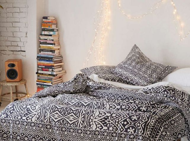 Linge de lit ethnique urban outfitters ambiances for Chambre urban outfitters